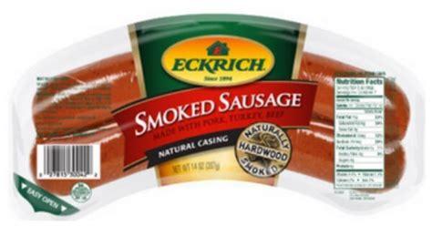 eckrich sausage beef coupons deals  walmart harris teeter moreliving rich