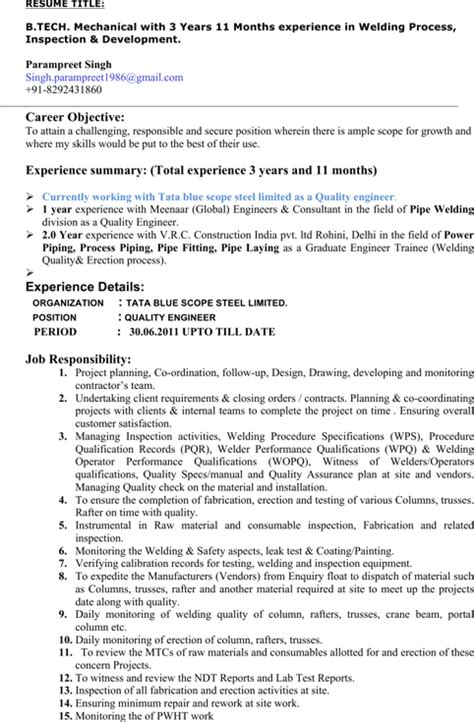 download welder resume templates for free formtemplate