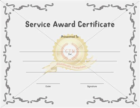 template for award certificate award certificates template new calendar template site