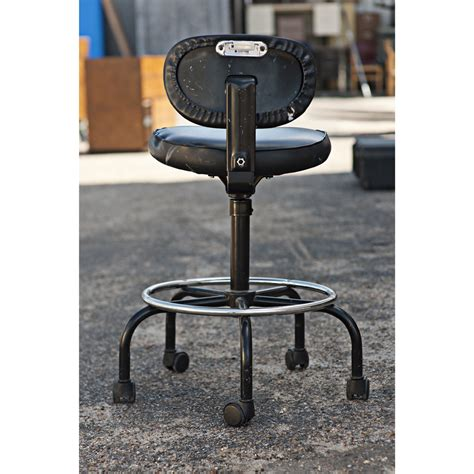 vintage cramer drafting stool vintage black cramer adjustable drafting stool ebay