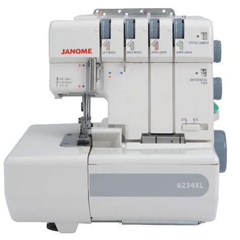 Fabric Cutting Table Janome 6234xl Overlocker Buy Overlocker Online Uk