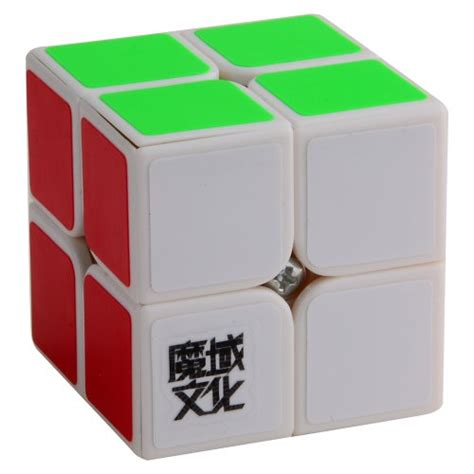 Murah Rubik 2x2 Yongjun Magic Cube 2x2x2 dfunlife magic rubik s cube 2x2 50mm white desertcart