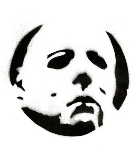 Michael Myers Halloween Pumpkin Stencil - michael myers stencil by rileymillion d6ixf8w jpg 838 215 954 pumpkin carving pinterest
