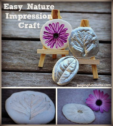 christmas crafts for kids from paris nature impression craft