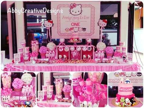 kitty birthday themes hello kitty theme 1st birthday party its more than just