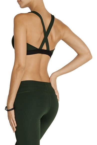 Vogo Stretch Jersey Sport Bra theory zing stretch jersey sports bra net a porter