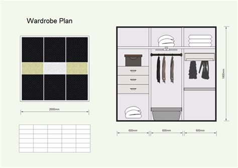 wardrobe plan software  examples