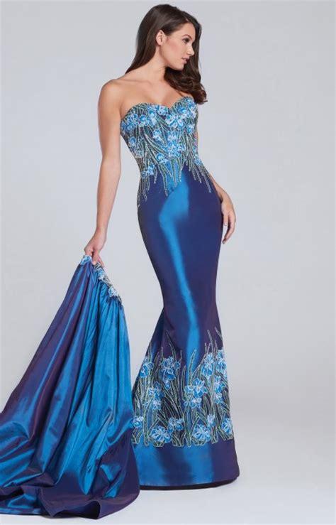 ellie wilde ew strapless detachable skirt mermaid