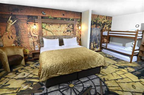 themed hotel england theme park family breaks at chessington s new azteza