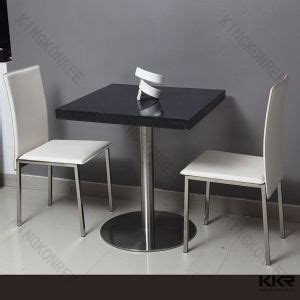 Solid Surface Dining Table China Customized Corian Solid Surface Fast Food Restaurant Table China Restaurant Table