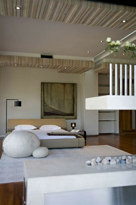 serenity room ideas modern bedroom design love the bud vases rocks and