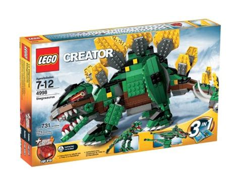 Overall Set 3in1 Spandek lego creator stegosaurus kit review