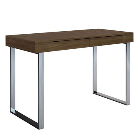modern desks alec walnut desk collectic home