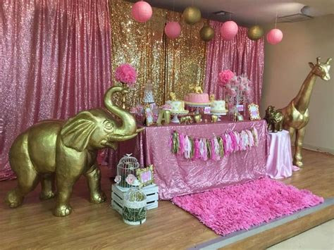 Pink Safari Theme Baby Shower by 25 Best Ideas About Safari Table On