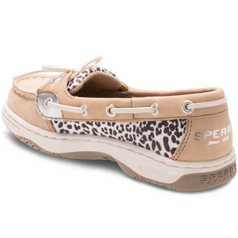 girls boat shoes sperry girls angelfish boat shoes bob s stores