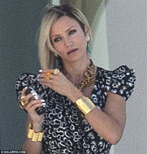cameron diaz tattoo cameron diaz sports shoulder and gaudy jewellery