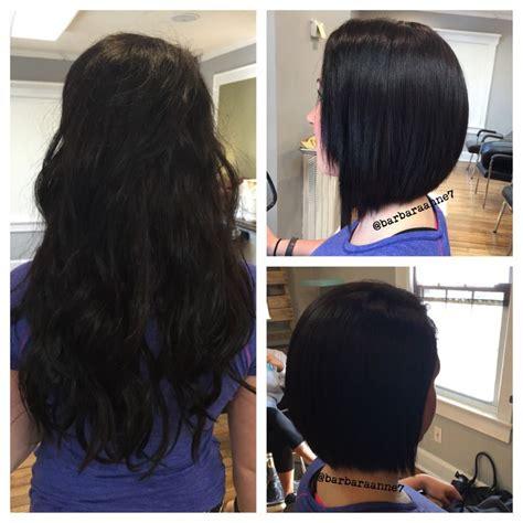 from asymmetrical to diagonal forward diagonal forward haircut asymmetrical short hair