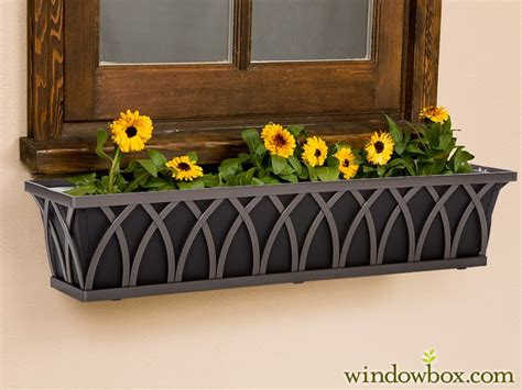 iron window box the arch tapered bronze iron window box nine liners to