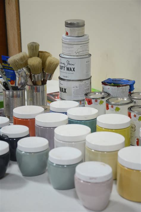 chalk paint classes furniture painting classes pretty chalk paint color combos