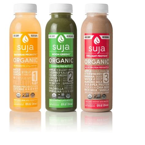 Suja Essentials Detox by Suja Juice Organic Cold Pressed 7 Day Renewal 21ct Target