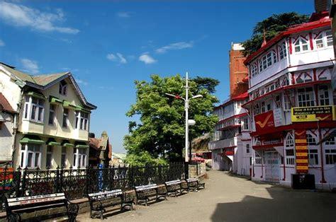 shimla hill station  tourist places