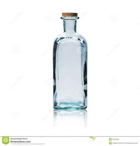 Clear Glas Kanister Für Küche by Leere Glasflasche Mit Korkenstopper Stockbild Bild