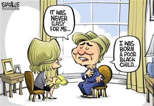 poor hillary clinton cartoon your perception is not