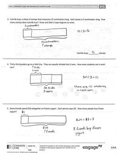 diagram division 5th grade d math problems and 3rd grade math problems on