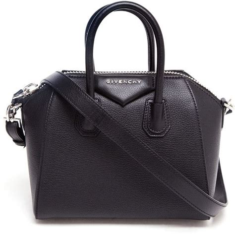 Givenchy Antigona Leather 61733 Leather givenchy mini antigona grained leather shoulder bag found on polyvore top bags