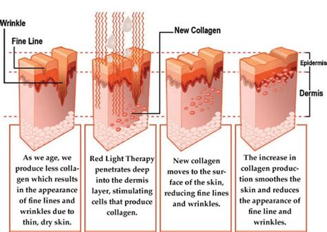 red light therapy skin benefits red light therapy for the skin 4 astonishing proven