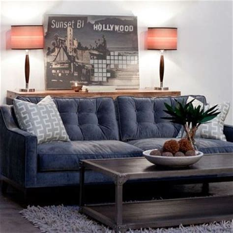 slate blue couch tufted slate blue sofa velvet fabric looks so comfy