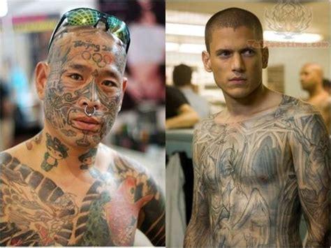 prison break tattoos prison images designs