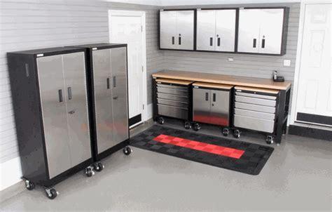 car guy garage releases  stainless steel garage cabinet