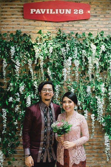pin oleh adebun  cinta batik perkawinan dekorasi