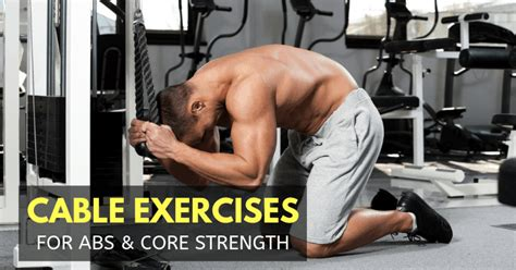 cable abdominal exercises  strong abs  workout