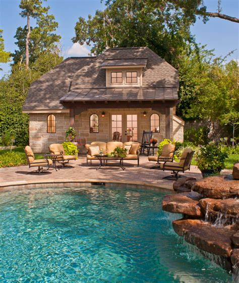 French Country Home Country House Plans With Pool