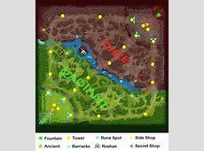 Map - Dota 2 Wiki Dota 2 Minimap