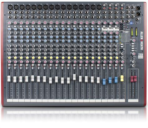 Allenheath Zed 22fx Stereo Mixer With Effect zed 22fx allen heath