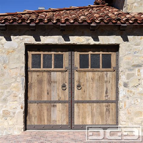 The Overhead Door Cestral 08 Custom Architectural Garage Door Dynamic Garage Door