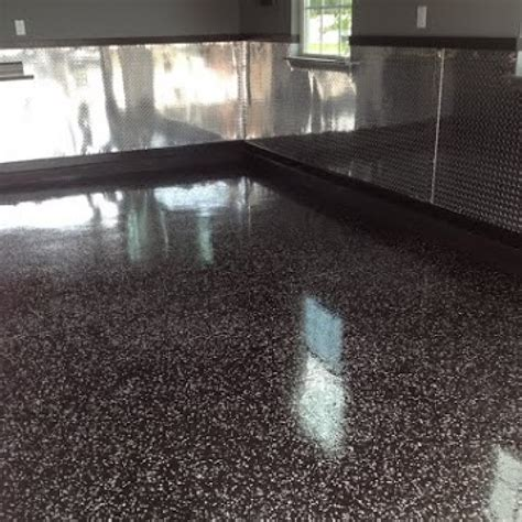 epoxy flooring for garage alyssamyers
