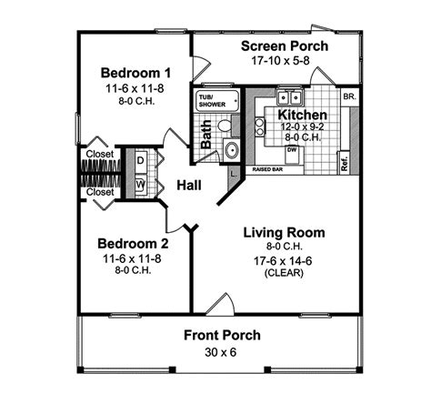 vacation cabin floor plans himalaya vacation cabin home plan 077d 0087 house plans