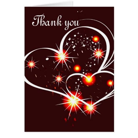 beautiful thank you cards beautiful thank you notes greeting card zazzle