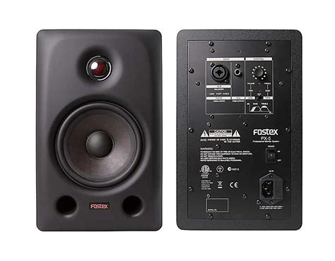 Speaker Fostex fostex introduces new px 5 monitor speaker at namm