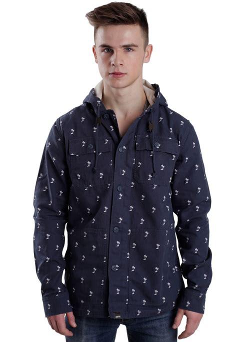 Jaket Vans Jaket Motif Logo Navy vans lismore navy jacket impericon uk
