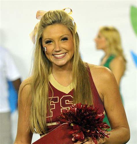 college cheerleading hairstyles hot fsu cheerleader hot cheerleaders pinterest
