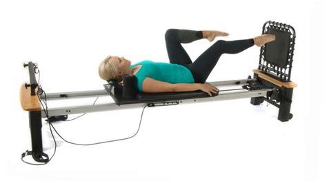 Pilates Table by Stamina Aeropilates Pro Xp 556 Pilates Table W Rebounder