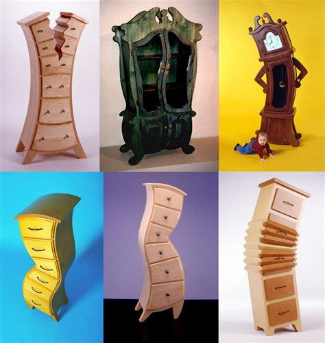 Whimsical Furniture collection of magnificent woodworks