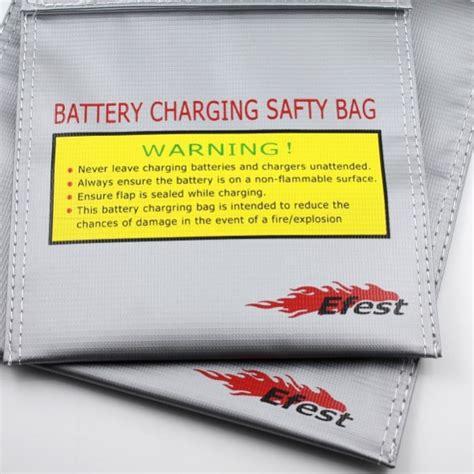 Efest Lipo Safety Charging Bag Big Size Diskon 1 efest battery charging safety bag big size