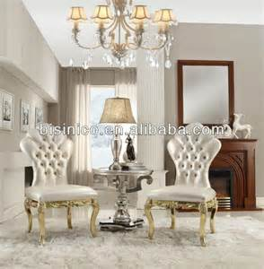 Chair Sets For Living Room New Classical Living Room Furniture Set Series Wing Chairs Small Coffee Table White