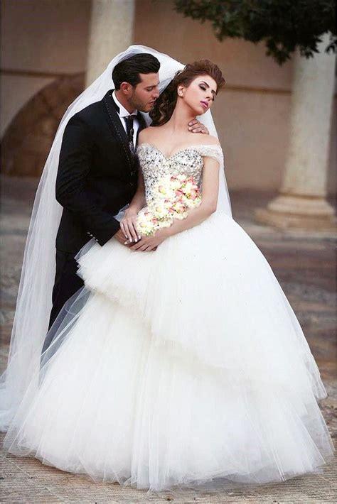25 bling wedding dresses ideas on
